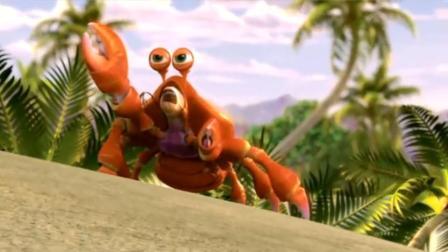 海鲜陆战队:螃蟹大夹子霸气一挥,前方的人类直接就被打懵了