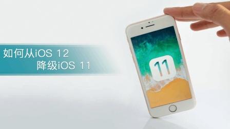 iOS 12尝鲜后悔药: 小姐姐教你如何从iOS 12降级iOS 11!