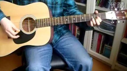 玩易吉他弹唱教学 许巍 执着 讲解