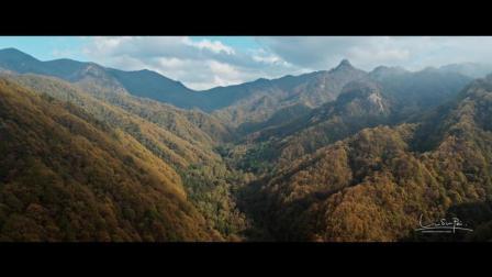 无人机航拍教程-大疆航拍无人机案例-陕西秦岭