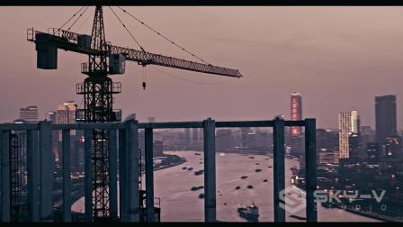无人机航拍教程-大疆航拍无人机案例-上海掠影