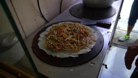 青岛最好吃的枣庄菜煎饼, 夫妻开店13年, 全是回头客