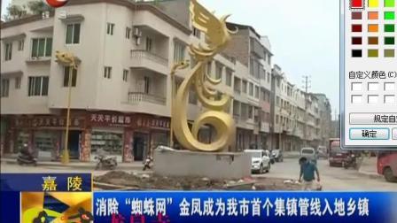 """南充市嘉陵区金凤镇成为我市""""蜘蛛网""""管道下埋入地乡镇"""