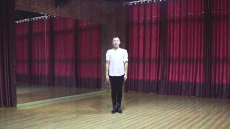 零基础学舞蹈·藏族舞·5后退步