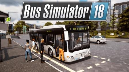 开着巴士横冲直撞!   巴士模拟18 #1