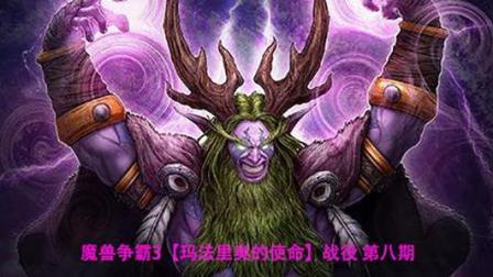 魔兽争霸3【玛法里奥的使命】战役 第八期-上层精灵路线