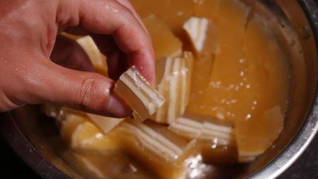 广东特色千层马蹄糕的做法, 原来这么简单, 只需3种食材