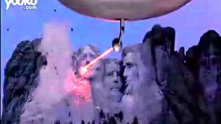 《火星人玩转地球》外星人摧毁亚欧拉美4大名建筑片段