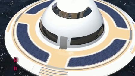 ufo形房子可以用来当作船只