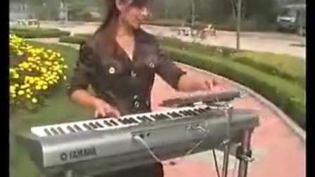 三排键电子琴演奏《好日子》