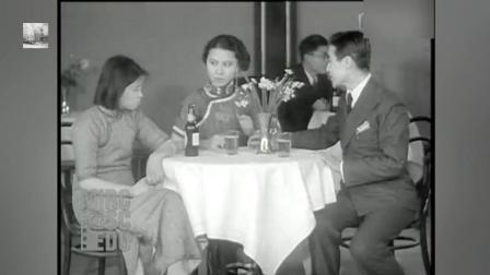 民国时期的电影拍摄现场