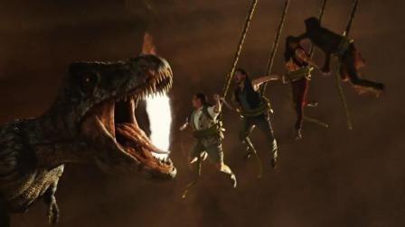 爆笑科幻喜剧, 科学家穿越到远古时代, 骑着霸王龙干外星人