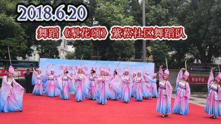 舞蹈《梨花颂》紫菘社区 武汉市洪山区关山街全民共舞健身操大赛海选赛