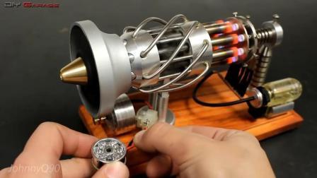 令人惊叹的全球微型发动机模型