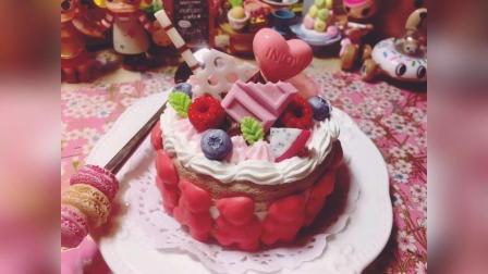新品出炉, 草莓熊夹心蛋糕