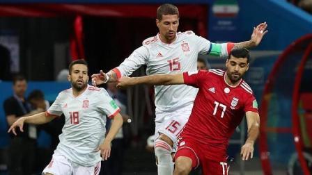 【全场集锦】迭戈科斯塔打破僵局 伊朗0-1西班牙