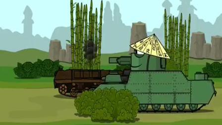 少儿动画片 什么时候他国的坦克也这么厉害了! : 坦克世界搞笑动画