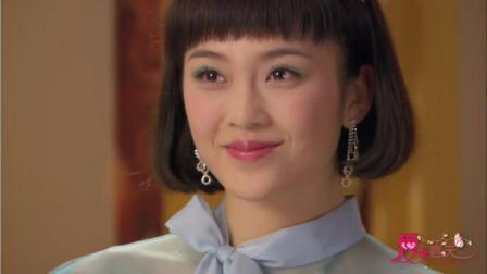 爱在春天:凤萍等人来向白牡丹敬酒,白牡丹看到凤萍后脸色瞬变