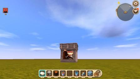 迷你世界: 特殊方法制作炼丹炉! 在里面能够练就三昧真火