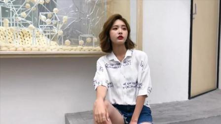 GNICO 夏季新款韩版显瘦字母印花单排扣棉麻短袖衬衫女上衣