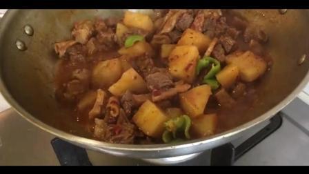 香辣牛肉炖土豆的家常做法, 营养下饭菜
