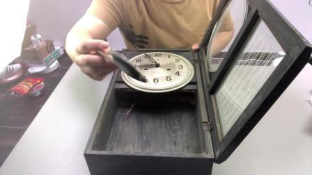 一男子花180元, 从转转上买来80年代的, 老古董北极星挂钟, 只为找到年轻时候感觉
