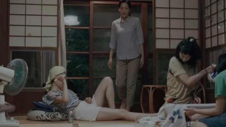 4分钟看完日本《海街日记》, 1个出轨男人和4个未婚女人的故事