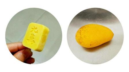 3个芒果, 50克牛奶, 40克糖, 70克淡奶油, 做出超级好吃的雪糕!
