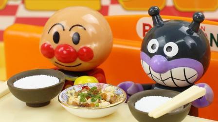 迷你厨房食玩系列之面包超人与麻婆豆腐
