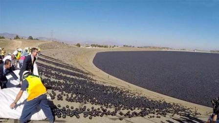 为了减少水蒸发, 美国向水库投入9600万遮阳球, 管用吗?