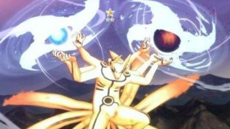 火影忍者博人传: 六道仙人灵魂附体, 九喇嘛查克拉强大释放