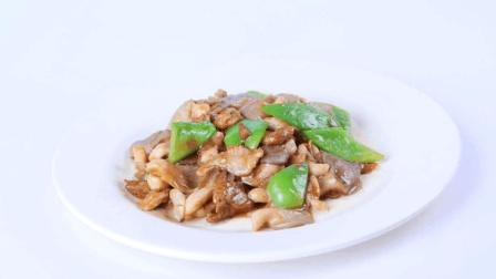 家常菜蘑菇炒肉的做法, 味道鲜美, 营养丰富!