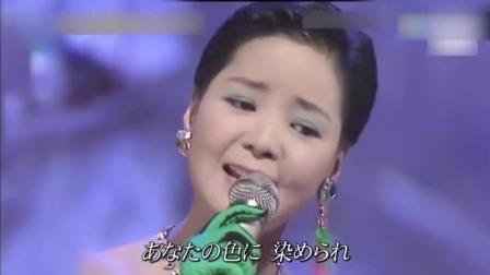 """泪奔! 邓丽君逝世23周年日本全息投影""""复活""""邓丽君 演唱经典之作《我只在乎你》"""