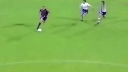 一球成名! 大罗最牛进球, 之后从此罗纳尔多改叫外星人!