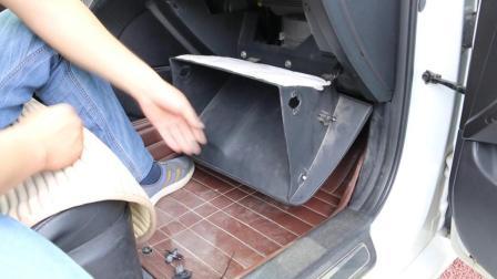 专业汽修工手把手教学, 自己动手清理空调滤芯, 保持车内清新空气