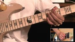 纪斌电吉他教学《打狗棒法》第三十章 推弦还原音技巧讲解