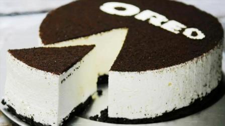 """100比1放大的奥利奥""""夹心""""蛋糕, 最后切那一刀, 我要馋疯了!"""