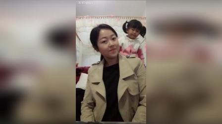 美拍视频: 第一次和女儿玩#自拍#