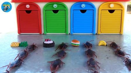 蟑螂想吃菠萝蛋糕香蕉, 托马斯火车, 大巴车, 汉堡, 儿童玩具, 悠悠玩具城