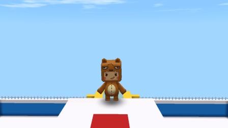迷你世界 高台跳水 没有点武功进不去