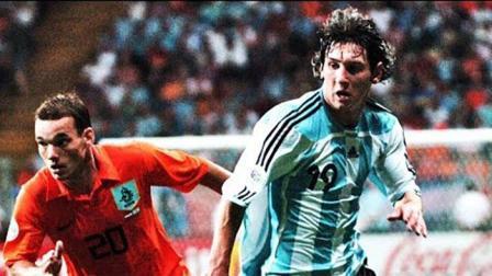 当时还很青涩! 回顾梅西前两次参加世界杯表现, 8场打入1球