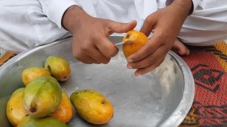 这是我见过最干净的芒果冰淇淋制作, 看完全过程, 有没有让你心动