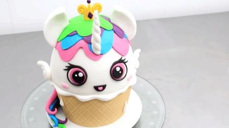 超级可爱的小动物蛋糕, 看了后都忍不住, 想要学着做