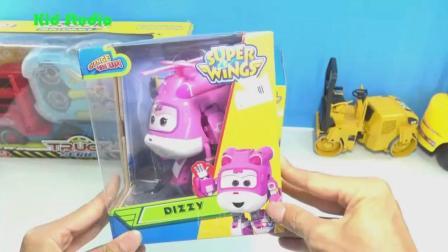 汽车和超级飞侠玩具试玩, 婴幼儿宝宝玩具游戏视频 335