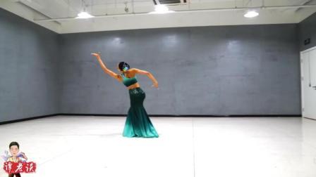 傣族舞艺考小片段, 舞者的手臂比我腿都长, 太漂亮了