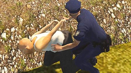 【屌德斯&小熙】 警察模拟器 史上最搞笑BUG游戏!起飞就完事了!