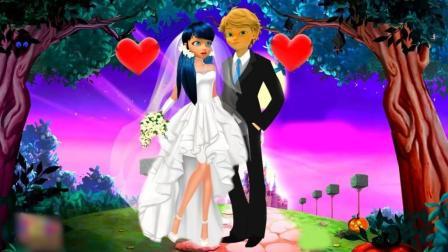 同人动画: 瓢虫雷迪, 在婚礼中新娘雷迪被劫走! 伤心难过的时候黑猫出现了
