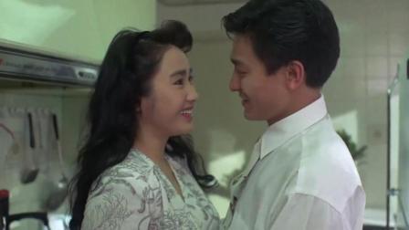 """狱中龙: 刘德华为老婆从此""""封刀""""黎姿一高兴, 两人拥吻起来了"""