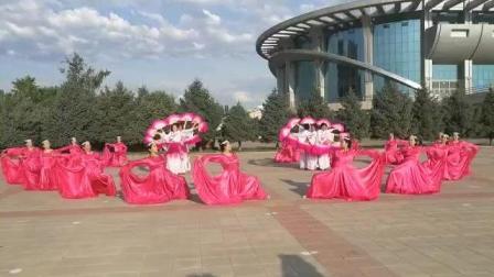 视频制作萱子;庆七一奥体总部梦之秀舞蹈队表演'你想我们走来'
