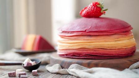 日食记 第二季 用平底锅就能做的高颜值蛋糕 芋泥千层蛋糕!